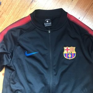 contacto como eso Sanción  Nike Jackets & Coats | Nike Boys Real Madrid Track Jacket Size M | Poshmark